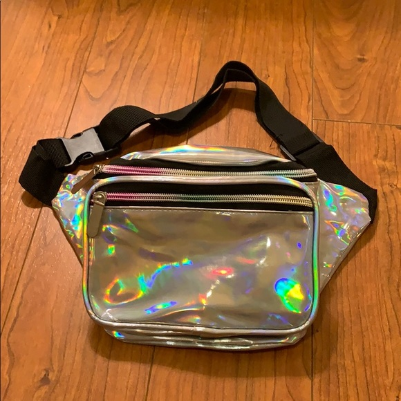 Holographic and Rainbow Fanny Pack